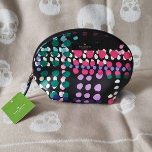 KATE SPADE Shore Street Cosmetic Bag NEW
